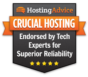 Crucial Hosting - 2017 Tech Experts Endorsement